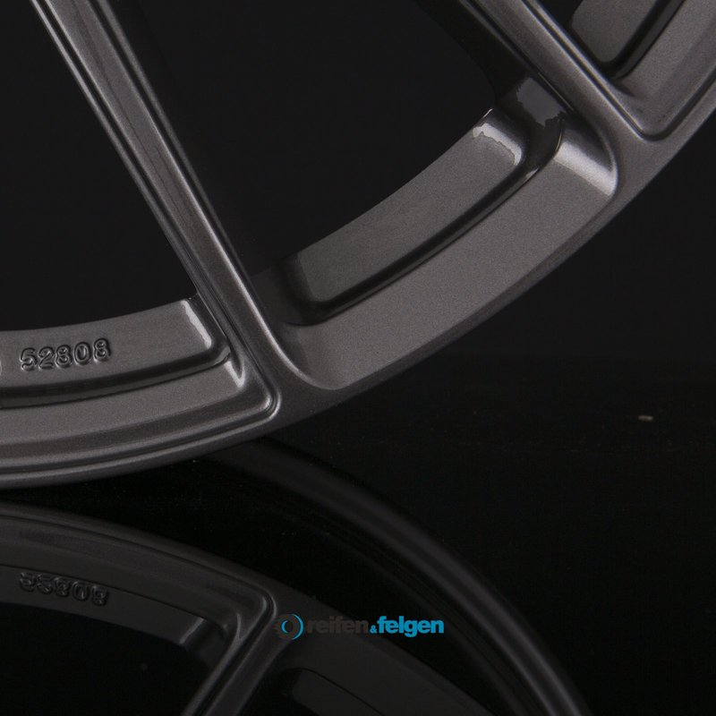 KÖNIGSRÄDER KR1 7x16 ET48 5x114.3 NB72.6 Grey Glossy
