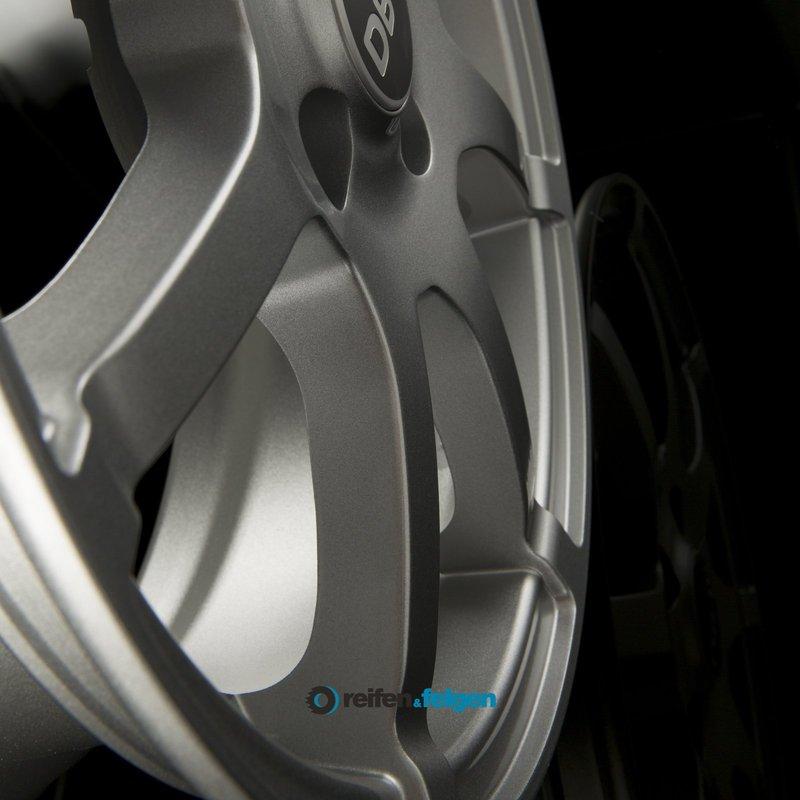 DBV BALI II 5x15 ET38 4x100 NB63.3 Silber Metallic_3