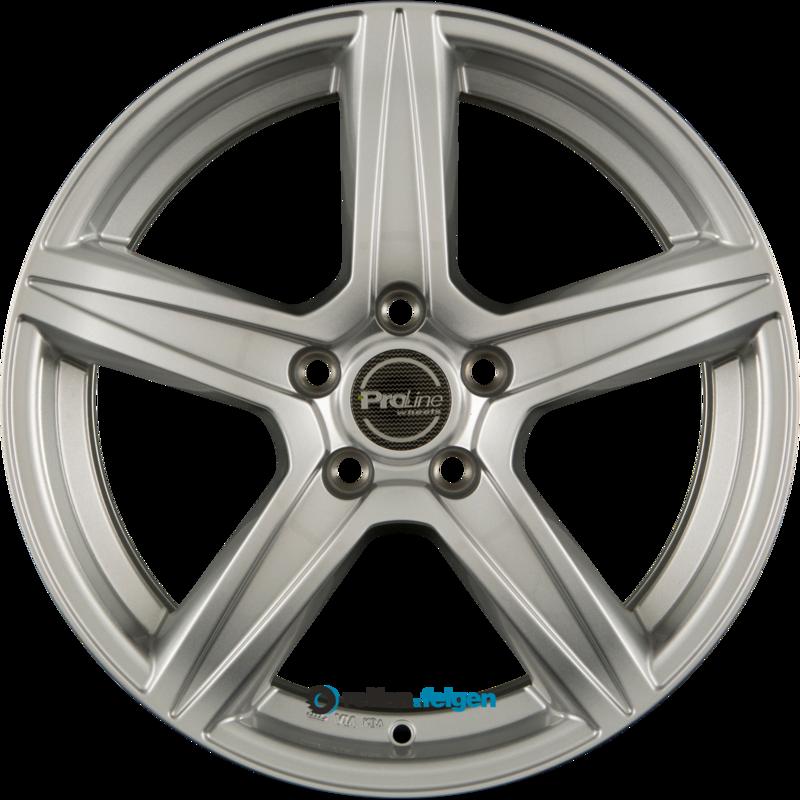 ProLine Wheels CX200 6.5x15 ET38 5x105 NB56.6 Arctic Silver_0
