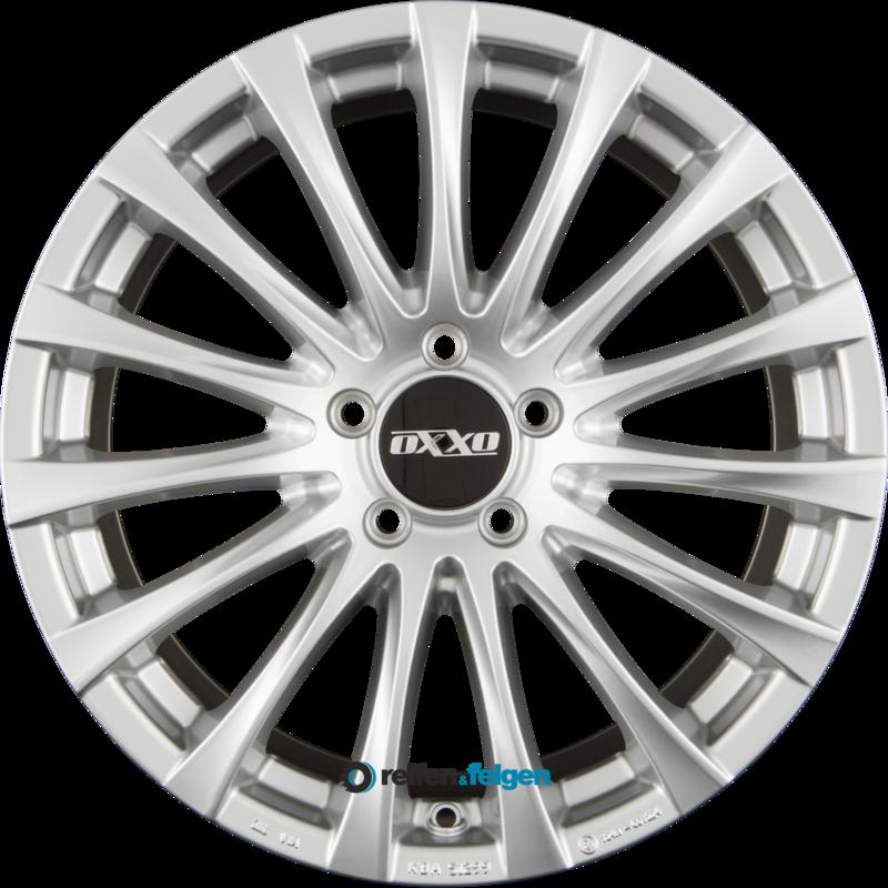 OXXO ELAN (OX14) 7x16 ET32 5x112 NB66.6 Silver_1
