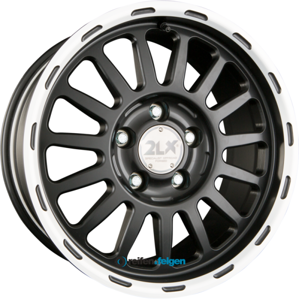 DIEWE WHEELS 2LX 8x17 ET45 5x150 NB110.1 Nero Machined_1