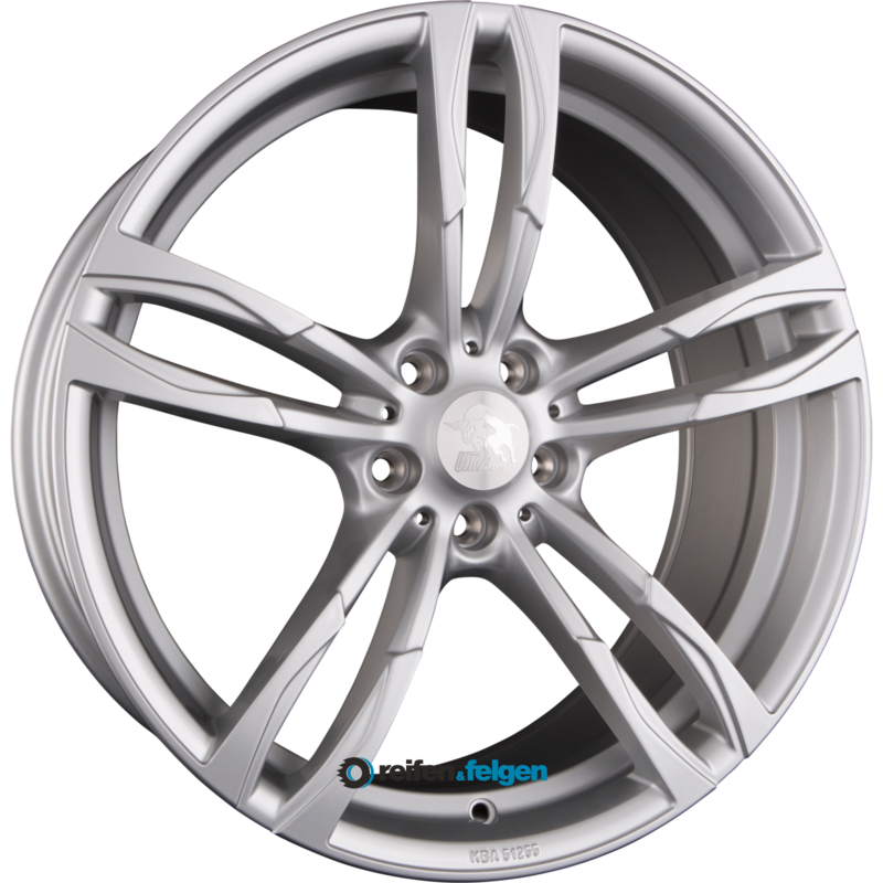 ultra wheels ua11 boost 8x18 et45 5x120 nb72 6 silver. Black Bedroom Furniture Sets. Home Design Ideas