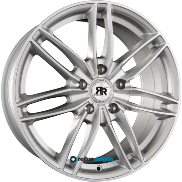 RACER WHEELS EDITION 6.5x15 ET25 4x108 NB65.1 Silver