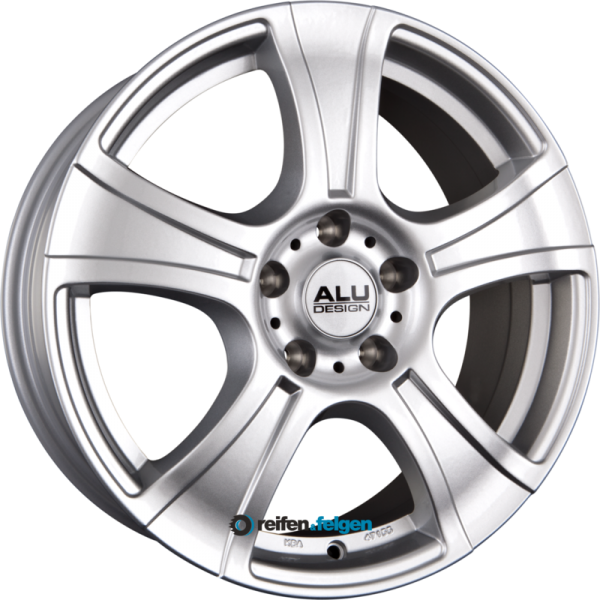 ALUDESIGN AD 01 7x16 ET38 5x115 NB70.2 Silber_1
