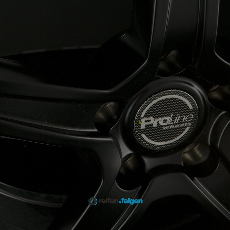 Vorschau: ProLine Wheels CX200 6.5x15 ET38 5x105 NB56.6 Black Matt_2
