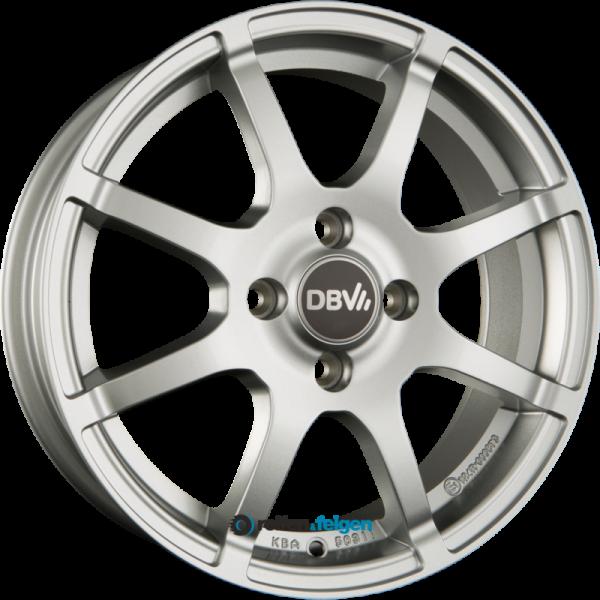 DBV BALI II 5x15 ET38 4x100 NB63.3 Silber Metallic_1