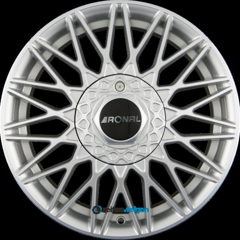 RONAL LSX 7x16 ET45 5x114.3 NB82 Silber Frontkopiert_0
