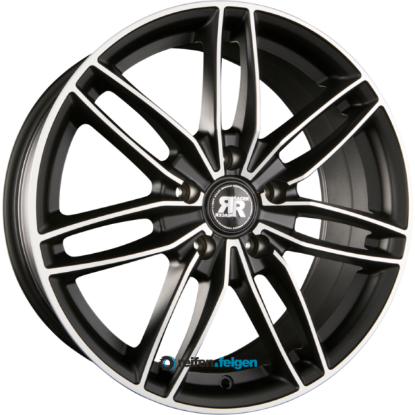 RACER WHEELS EDITION 6.5x15 ET42 5x114.3 NB73.1 Satin Black Machined Face