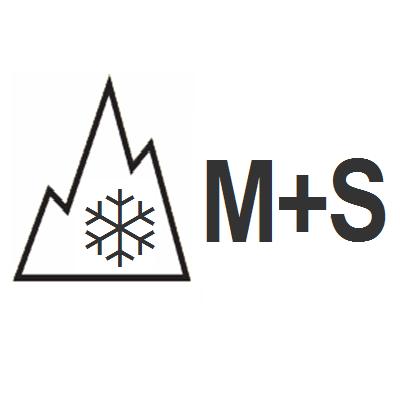 Schneeflockensymol-Winterreifen