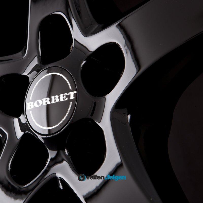 Vorschau: BORBET F 6x16 ET48 5x112 NB66.6 Black Glossy_2