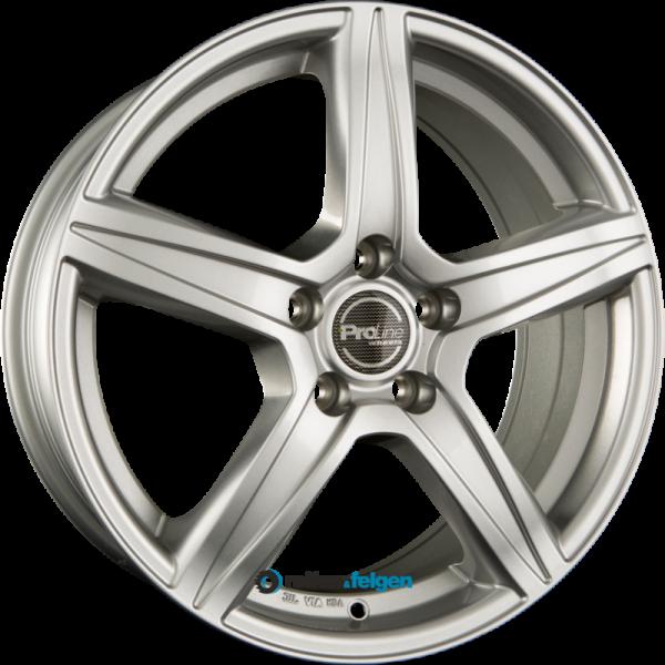 ProLine Wheels CX200 6.5x15 ET38 5x105 NB56.6 Arctic Silver_1