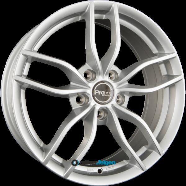 ProLine Wheels ZX100 6x15 ET38 5x100 NB63.3 Arctic Silver (AS)_1