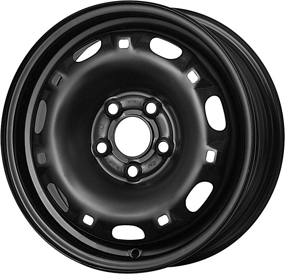 Vorschau: 14″ Stahlrad Winter für Seat Ibiza 1.2 TDI CR (6J) Kumho WP51 175/70 R14 84T