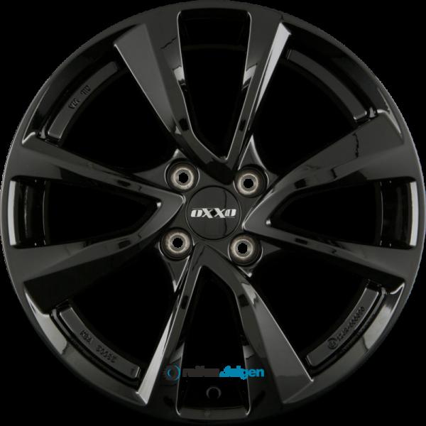 OXXO OBERON 4 (OX7) 4.5x15 ET35 4x100 NB54.1 Black_0