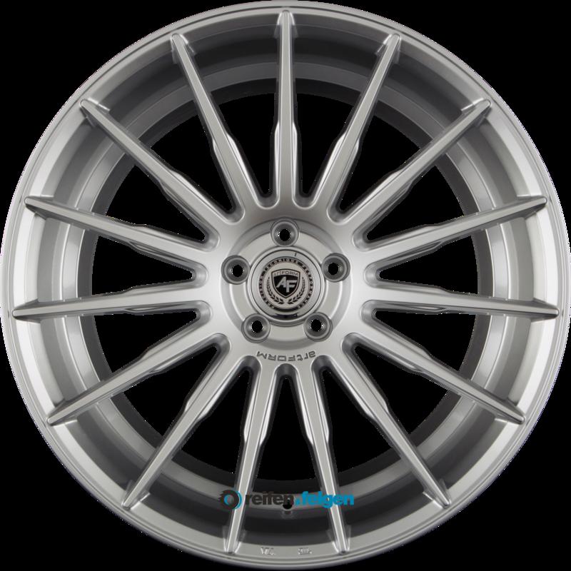 artFORM AF-401 9x21 ET35 5x112 NB66.6 High Gloss Silver (HGS)_0