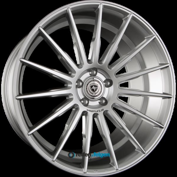 artFORM AF-401 9x21 ET35 5x112 NB66.6 High Gloss Silver (HGS)_1