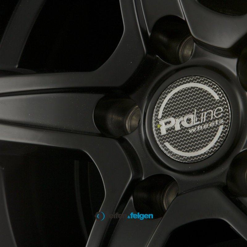 ProLine Wheels CX200 6.5x15 ET38 5x105 NB56.6 Black Matt_4