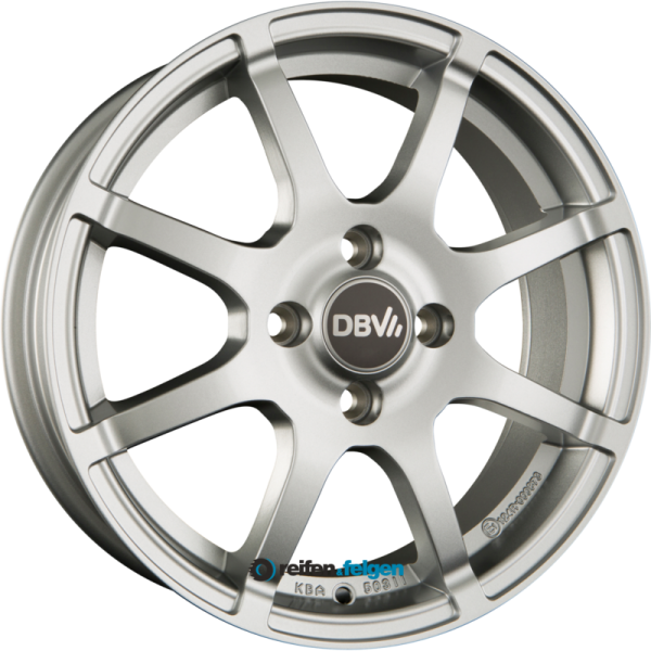 DBV BALI II 5x15 ET32 4x100 NB60.1 Silber Metallic_1