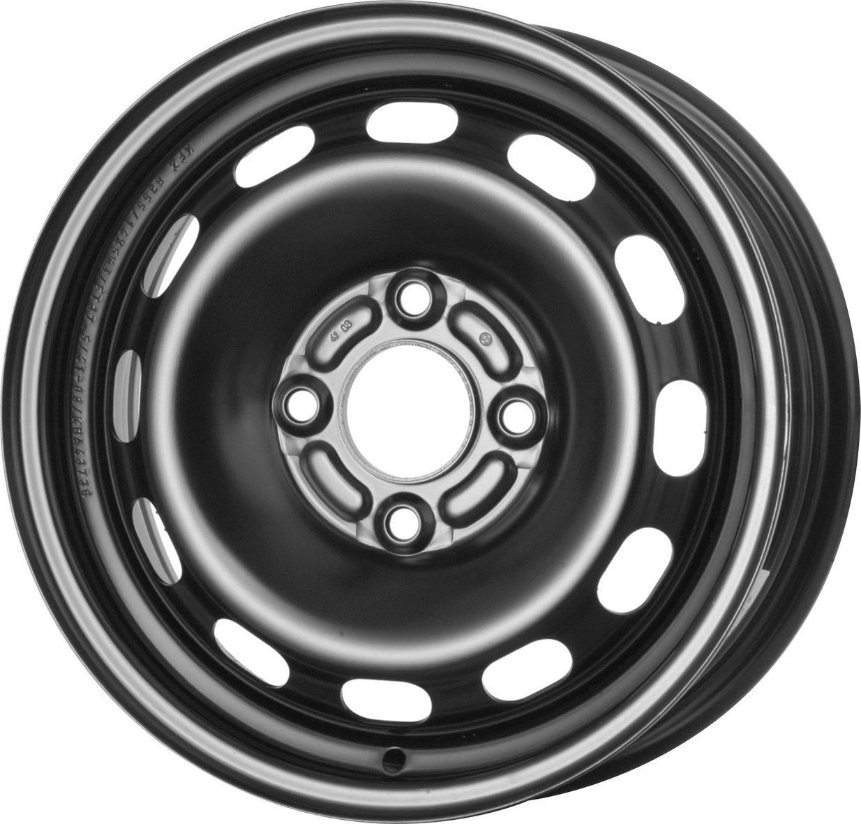 Vorschau: 14″ Stahlrad Sommer für Ford Fiesta 1.6 TDCi (JR8) Kumho KH27 175/65 R14 82T