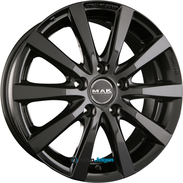 MAK IGUAN 4.5x15 ET35 4x100 NB54.1 Gloss Black_1
